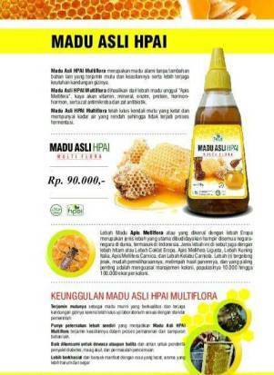 Madu Asli Multiflora- 0856.9637.0861