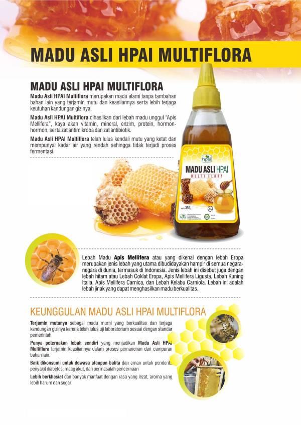 Madu Asli Multiflora HPAI
