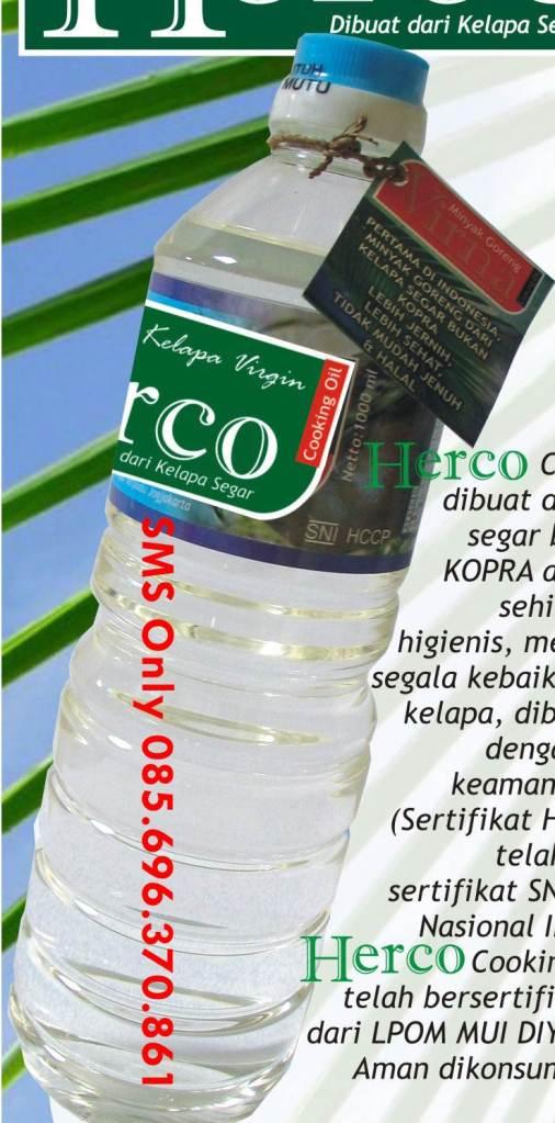Minyak Goreng Kelapa Alami- Minyak Goreng VCO