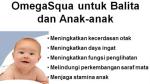 Minyak Ikan Natura Omega Squa untuk Bayi dan Anak- Jual Nutrisi Tumbuh KJembang Anak