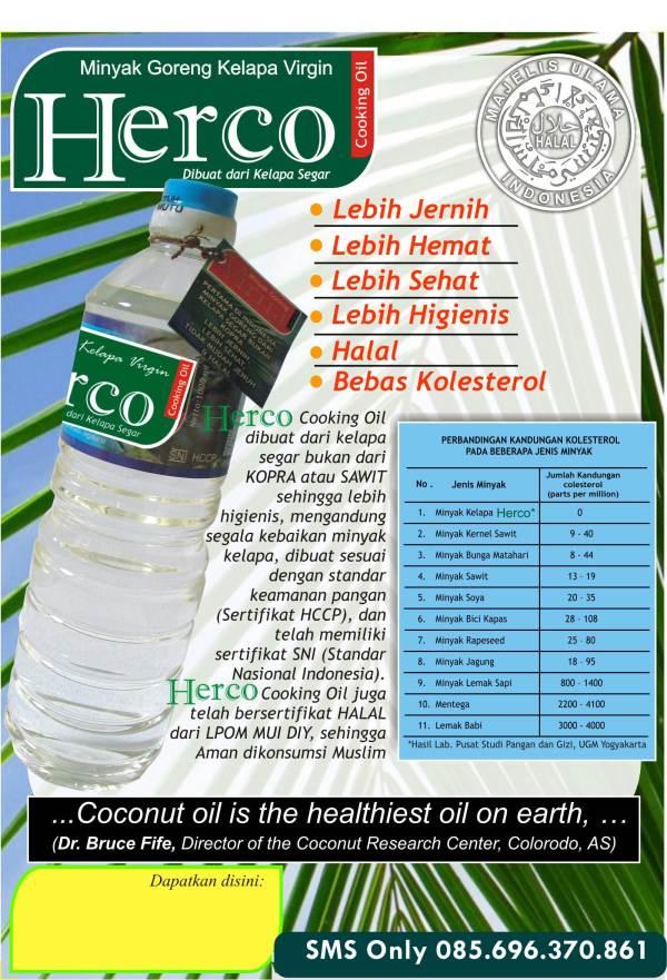 Reseller Harco- Agen Minyak Goreng VCO