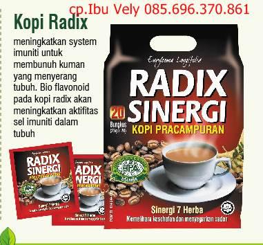 Kopi Radix Untuk Tulang Dan Pinggang