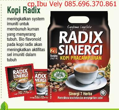 Jual Kopi Radix - menghilangkan racun dalam tubuh