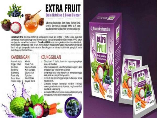 Agen nutrisi buah dan sayur- Extra FRUIT HPAI