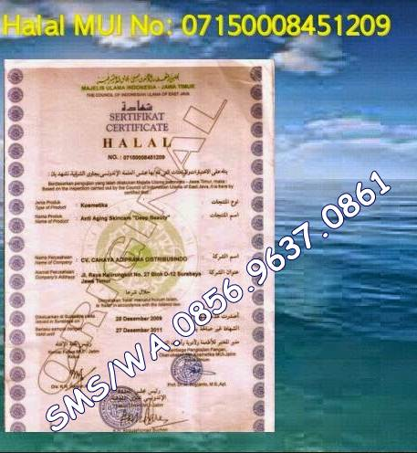 agen deep beauty sertifikat halal-Jual Squalane
